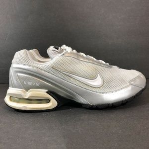 Nike Air Max Torch 3 White Silver Running Shoe Women's Size 9.5